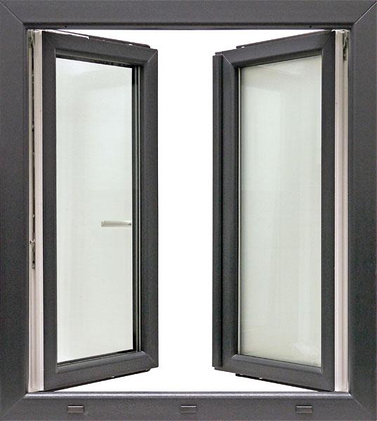 Fenster außenansicht  IGLO Light - WIKA Fensterbau